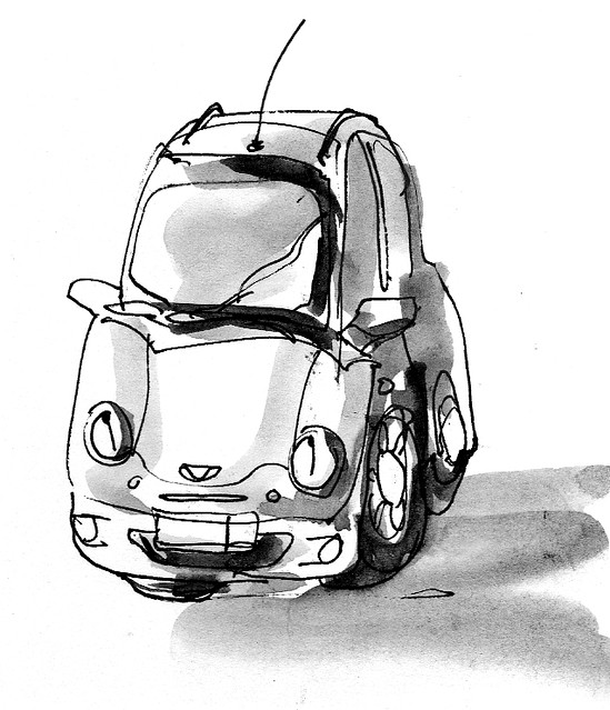 One Anxious Car