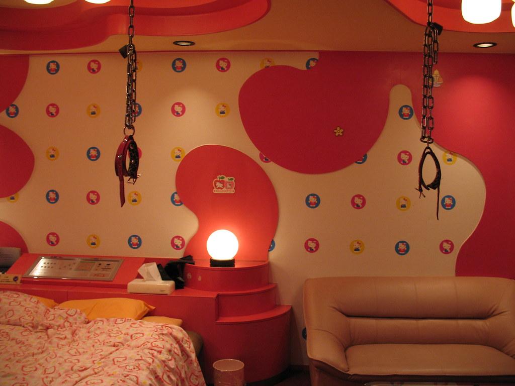 Hello Kitty Love Hotel Room