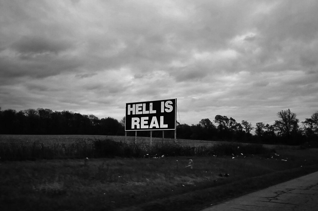 hell is real res ipsa loquiturthis photo was taken on