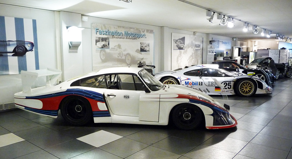 Inside The Quot Old Quot Porsche Museum Zuffenhausen Stuttgart