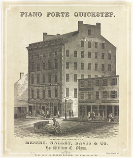Hallet, Davis & Co. piano forte manufactory | by Boston Public Library