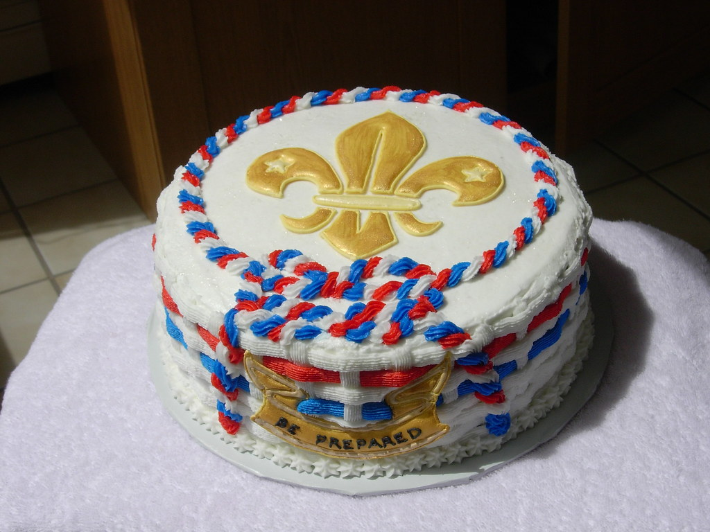 Cake Decorating Ideas For Boy Scouts : Scouts cake This cake made for an Eagle Scout awards ...