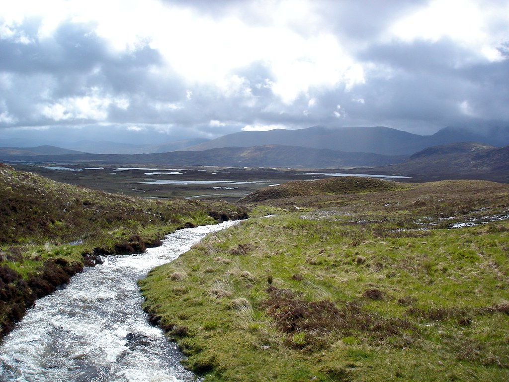 Scottish Wilderness En Route The West Highland Way At