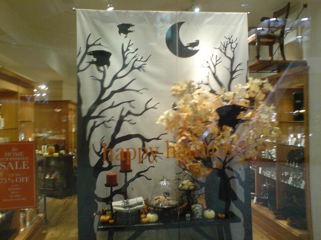 Halloween Store Front Display 2 Petesh Flickr