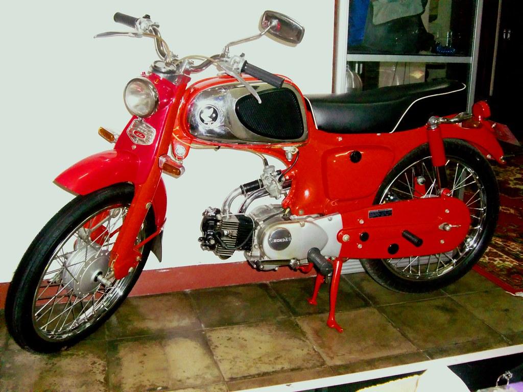 Honda C110 1965 Honda C110 Sport 50cc 1965 Original