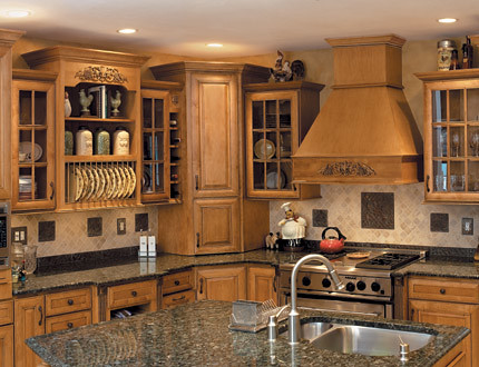 Gourmet Kitchen Cabinets Fieldstone Cabinetry
