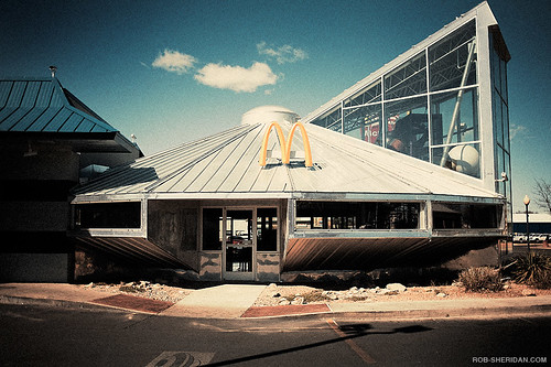 Ufo Mcdonald S Roswell Nm Rob Sheridan Flickr