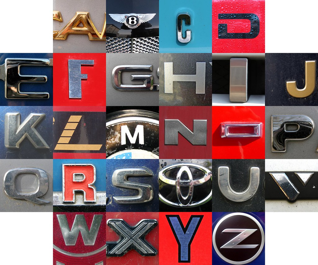 car letters by mag3737 car letters by mag3737