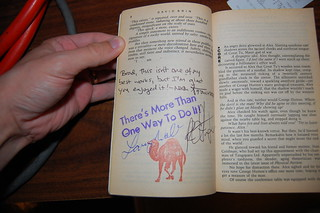 David Brin's 'Earth' signed by Larry Wall and Nat Torkington | by CanSpice
