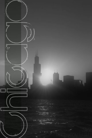 chicago skyline iphone background one of my photos i