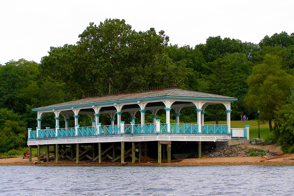 Pavilion At Conference House Park In Tottenville Staten I