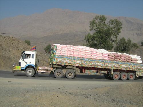 Trucks for Afghanistan...