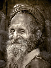 He is old, but he is happy | by .Lal Khan.