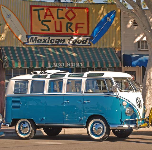 vw bus seal beach pier car show seal beach california. Black Bedroom Furniture Sets. Home Design Ideas