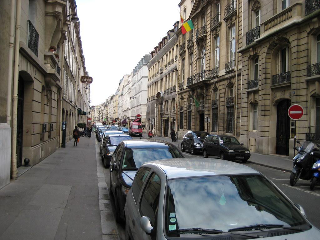 La rue du cherche midi 6eme paris looking back up the st flickr - La cantine du troquet cherche midi ...