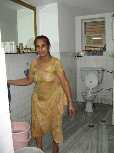 Main House Bathroom And Shakoontla The Maid Who Does The C Flickr - Bathroom maid