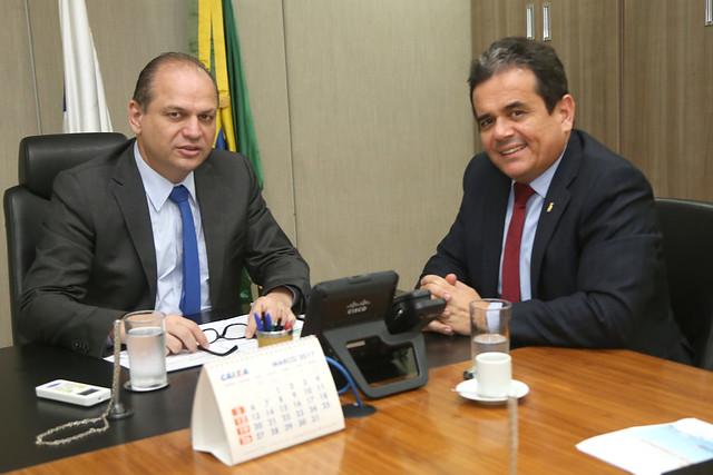 Audiência com Henrique Pires Presidente da Funasa. Brasília, 23/02/2017. Foto: Erasmo Salomão/MS | por Ministério da Saúde