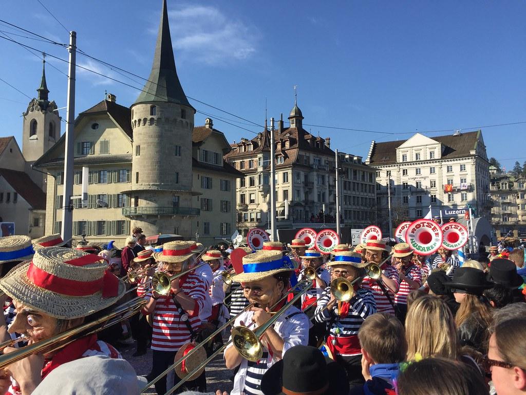 Fasnacht Fasching Carnival Luzern Lucerne Switzerland Flickr