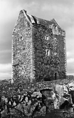Smailholm Tower CHS 25 #1 | by Agfapan-25