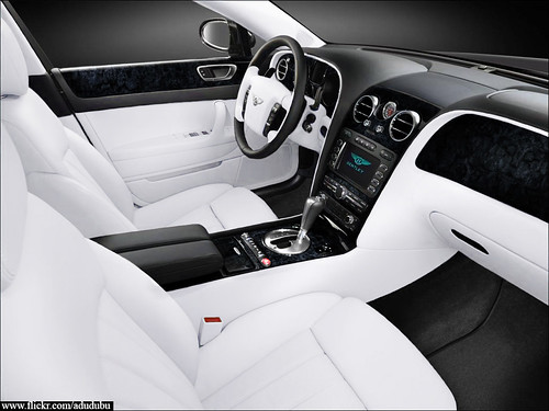bentley continental flying spur white car interior flickr. Black Bedroom Furniture Sets. Home Design Ideas