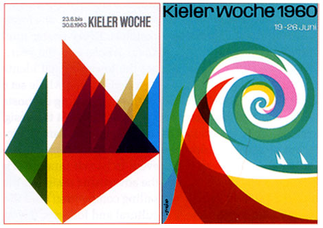 german kieler woche posters designed for the kieler woche flickr. Black Bedroom Furniture Sets. Home Design Ideas