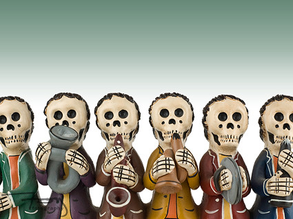Day Of The Dead Band I Made This Image A Desktop