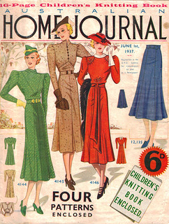 Australian Home Journal June 1st 1937 | by Gold Stars For Tulip