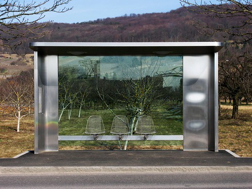 Busstop at Vitra Design Museum | by jacobdarfelt