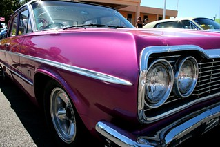 Purple car | by Jaime Carter