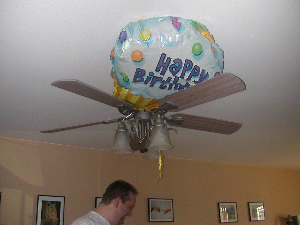 Got My Balloon Stuck In The Ceiling Fan Sillygirlsg2001
