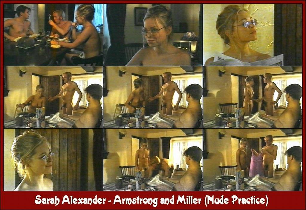 Naked Nude Sarah Alexander 97