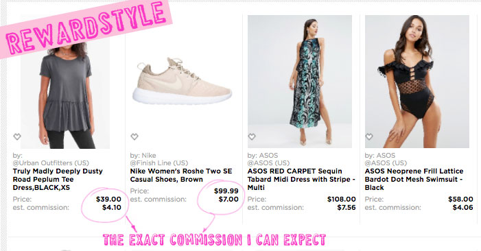 Shopstyle vs Rewardstyle as an affiliate network for fashion bloggers