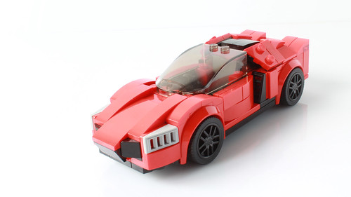 My Lego Lykan Hypersport (with instructions)