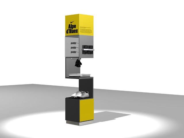 Alpe d'Huez Product display unit | Graham Black | Flickr