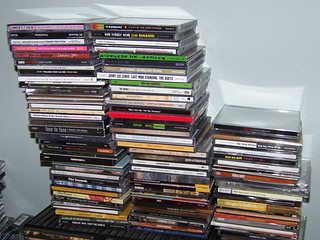 CD stack | by Joe Madonna