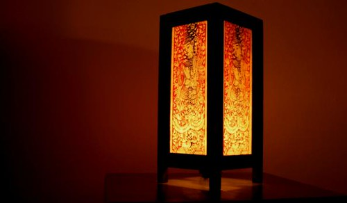 thai lamp | My sister bought this lamp for me for Christmas.… | Flickr