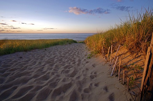 Cape Cod Beach Sunset Race Point Beach Provincetown