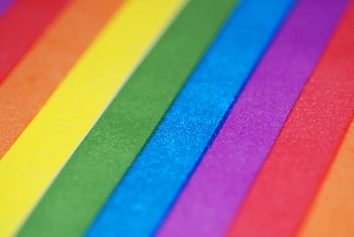 Rainbow Stripes Background | by incurable_hippie