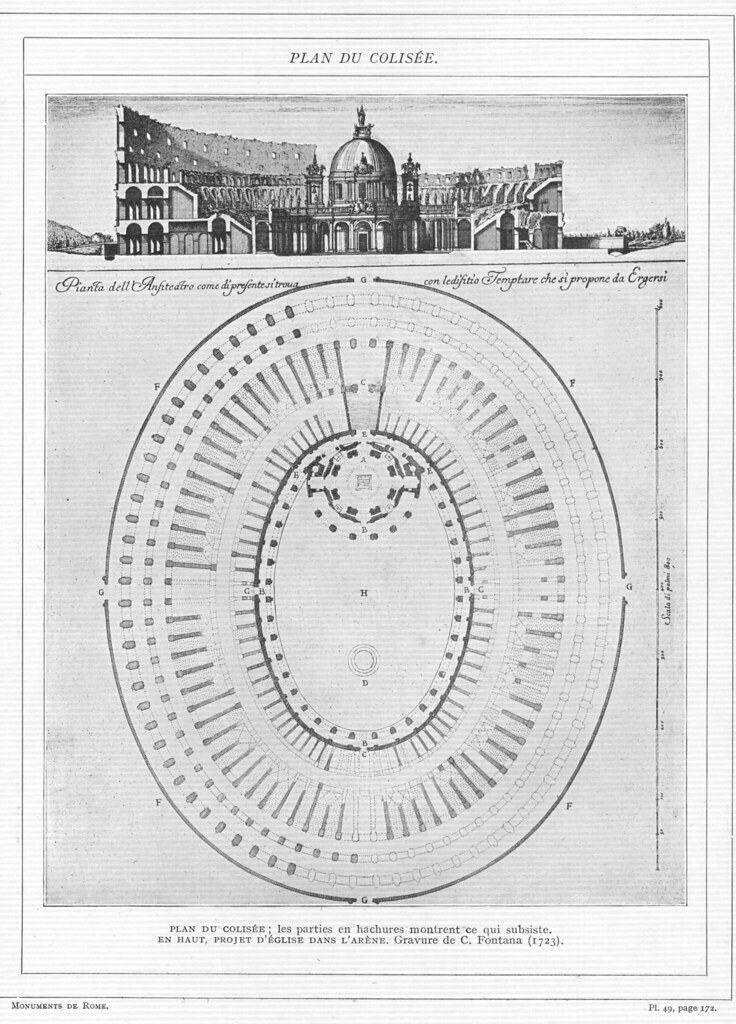 Colosseum: Plan | Other title: Colosseum (Rome, Italy ...