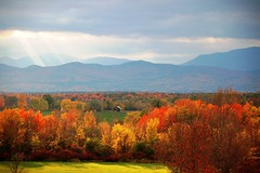 Peak of fall in Ferrisburgh, Vermont | by WCAX Weather