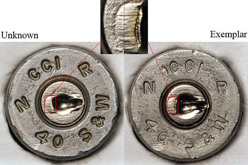 shell casing comparison