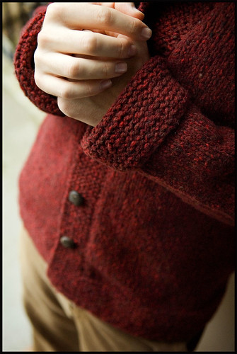 Smokin Jacket - Cuff Detail | by brooklyntweed