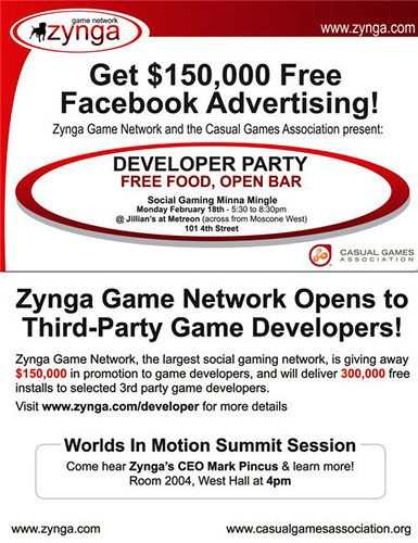 Zynga & Marc Pincus -- Geeks & Games Party Monday @ Jillian's | by davemc500hats