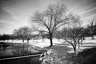 Carroll Creek - B&W | by louhamilton23