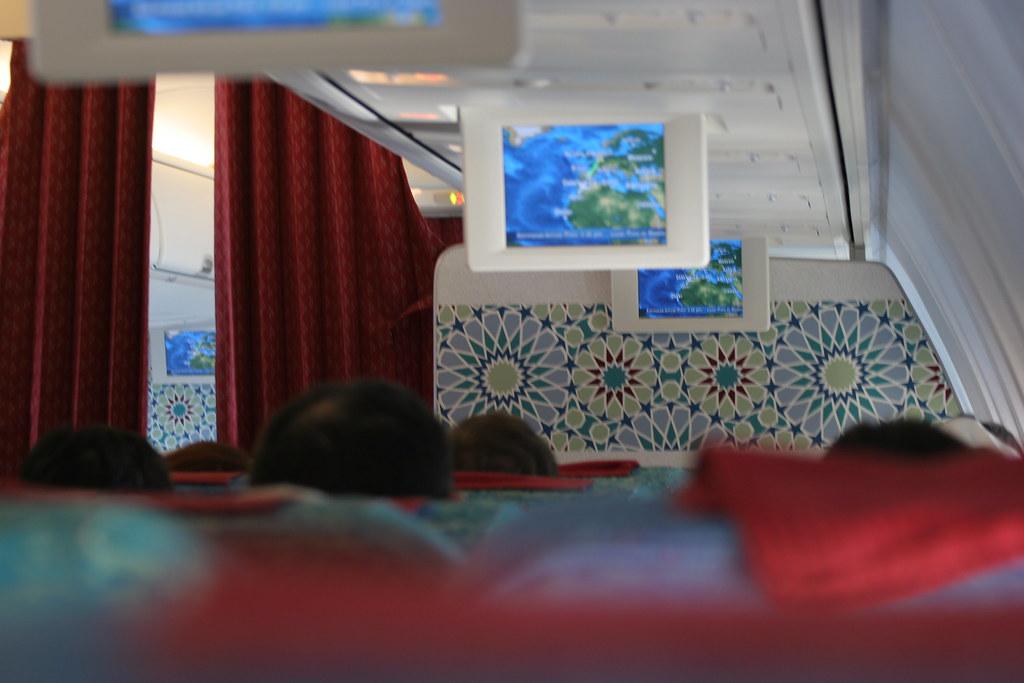 Interior of Royal Air Maroc Boeing 737-800 | Erwyn van der Meer | Flickr