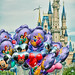 Disney - Main Street Balloons & Cinderella Castle (Explored)