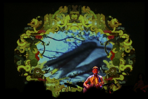Visuals for Sufjan Stevens show at the Tivoli Theatre | by Jaymis