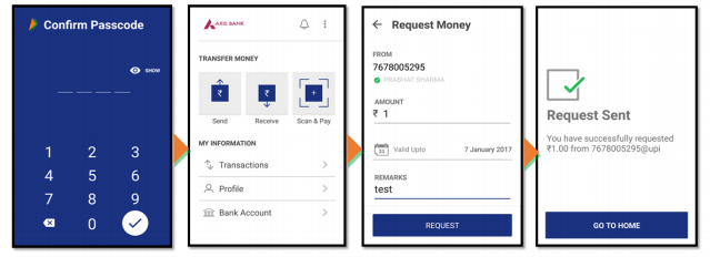 Collect money by Using Mobile number