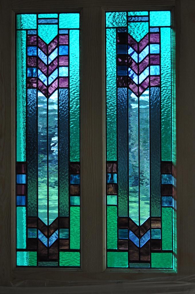 Art deco door panels by john hardisty john hardisty flickr for Art glass windows and doors