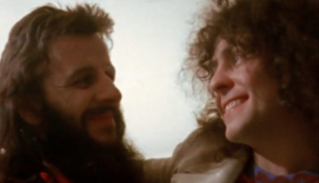 Born To Boogie Ringo Starr Marc Bolan Backstage At Wembley 1972